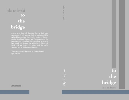 To The Bridge - paperback cover Vs 1.0