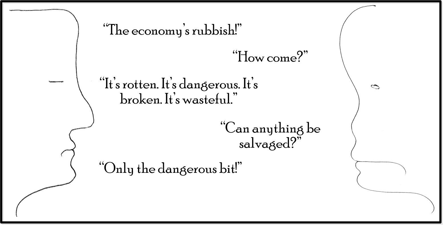 Economy 1 - Cartoon - Luke Andreski